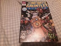 The Infinity Gauntlet #1 VF/NM 9.0 1st Printing Thanos Cover/Story