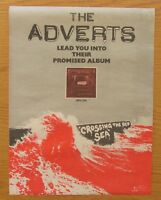 """THE ADVERTS CROSSING THE RED SEA 12"""" x 15"""" FULL PAGE MAGAZINE ADVERT 1978 PUNK"""
