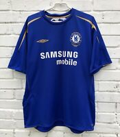 CHELSEA 20052006 HOME FOOTBALL JERSEY SOCCER SHIRT VINTAGE CENTENARY 100 YEARS