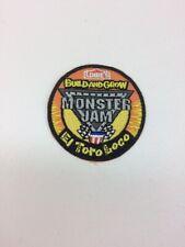 Lowe's Build & Grow Patch - Monster Jam - El Toro Loco- New