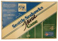 Seattle Seahawks VINTAGE TRIVIA BOARD GAME Football 1986 Trivia - Play on Dome!