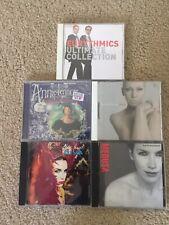 Annie Lennox Cd Lot + New Christmas Cd Eurythmics Greatest Hits