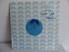 TEST PRESSING LOOK DE PARIS On the other side 45 tours MONO FACE Format 25 cms