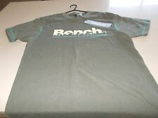 BENCH - MENS T-SHIRT + TAGS - ROOFTOP GRADIENT - MEDIUM - SEE DESC FOR SIZING