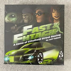 Fast & Fhtagn: A Game Of Cthulhu Cthulhoid Street Racing Board Game