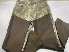 Pro Gear By Wrangler Camo Hunting Pants 35 x 32 Heavy Duty