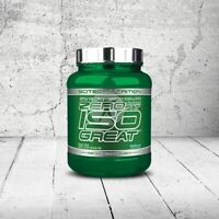 SCITEC NUTRITION ISOGREAT WHEY PROTEIN ISOLATE ISO GREAT ZERO FAT CARBS & SUGAR