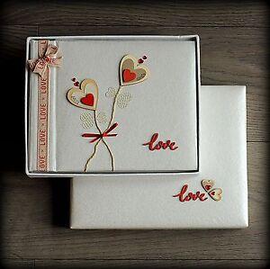 Luxury Personalised Valentines Day OR Wedding Photo Album/ Gift Handmade Boxed