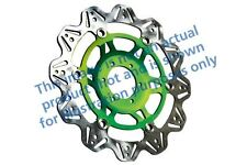 FIT KAWASAKI KR-1S (KR 250 C2/C3) 90>92 EBC VR Brake Disc Green Hub Front Left