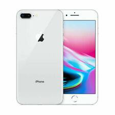 Apple iPhone 8 Plus Silver 64GB 12.0MP iOS Mobile Smartphone