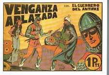 El guerrero del antifaz, nº 27. Venganza aplazada. Manuel Gago.