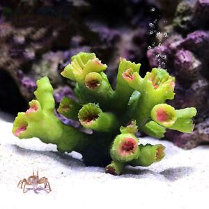 Artificial Coral Reef Aquarium Resin Fish Tank Landscaping Scenery Ornament DIY