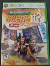 Scene it? Box Office Smash! Xbox 360 Complete CIB