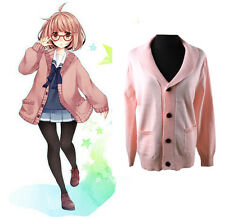 Kyokai no Kanata Beyond the Boundary Kuriyama Mirai Cosplay Jacket Coat Hoodie
