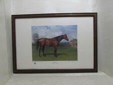 Large Limited Edition Horse Racing Lithograph 200th Anniversary Of Derby Ormonde