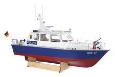 Krick RADIOCOMANDO POLIZIA MOTOR LAUNCH SCALA 1:20 kit modello di barca