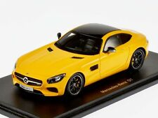 Spark 1/43 2014 Mercedes AMG GTS Yellow with Panorama Tinted Roof S1072