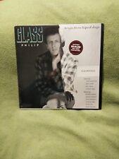 PHILIP GLASS Songs From Liquid Days LP NM / NM 1986 w/insert CBS FM-39564 Nice