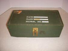 New listing Vintage 1964 Hasbro G.I. Joe Wooden Box Foot Locker, No Contents, Box Only!