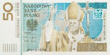 POLAND 2006 50 ZL POPE JOHN PAUL II - UNC COMMEMORATIVE