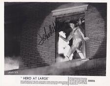 JOHN RITTER AUTOGRAPH 'HERO AT LARGE' PHOTO SIGNED 8X10 THREE'S COMPANY