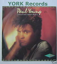 """PAUL YOUNG - Love Of The Common People -Ex 7"""" Single PS"""