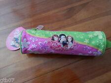 Fulla Pink Pencil Round Case Bag Pouch Muslim Arab Kids