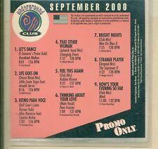 """""""CLASSIC"""" PROMO ONLY / UNDERGROUND CLUB / SEPTEMBER 2000"""