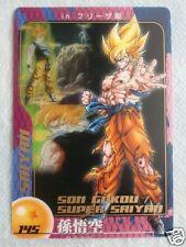 HTF DRAGONBALL MORINAGA Wafer SuShuu Card Frieza Saga Super Saiyan SON GOKU 145