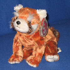 TY RUSTY the RED PANDA BEANIE BABY - MINT with MINT TAG