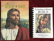 SDA Book Duo: The Desire of Ages ~ Learning to Know Jesus--A Study Guide for DA