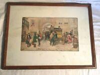 1920s Raphael TUCK & Son's OILETTE A. LUDOVICI art print MR. PICKWICK London