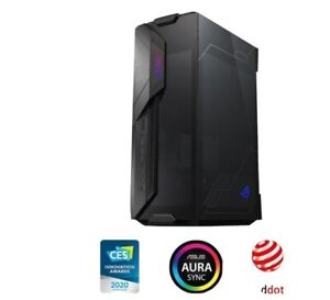 NEW IN BOX SEALED ASUS Rog Z11 Mini-Itx/dtx Mid-Tower Case Black