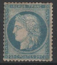 """FRANCE STAMP TIMBRE N° 60 A  """" CERES 25c  BLEU TYPE I """" NEUF x TB   M645"""