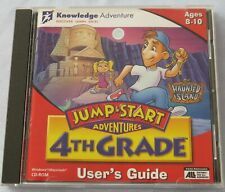Jump Start Adventures 4Th Grade - Haunted Island - Disc And User'S Guide -1996