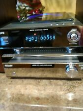 Phillips Micro Theater System MCD-703 - 2 Speakers and DVD Player System w/ Amp