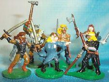 Dungeons & Dragons Miniatures Lot  Barbarian Native Warriors !!  s111