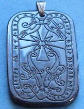 Runen Amulett Horn Runenstein
