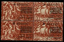 Bloque Billetes Ajuntament Barcelona 1939 10 y 15 centims ajuntamiento centimos
