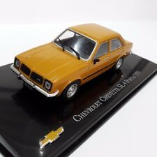 Chevrolet Chevette SL 4 Doors 1979 Brazil Rare Diecast Scale 1:43 New With Stand