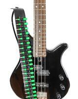 "2 1/4"" Wide .223Caliber 2"" Long GREEN  Bullet Classic Guitar Strap"