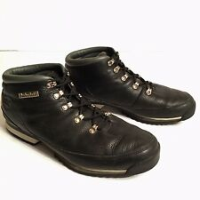 TIMBERLAND Men's Black Leather Boots Ankle Lace Up - Size 13 M