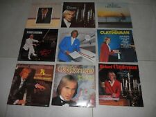 Bulk Various 9 X Richard Clayderman LP Albums Classical/Pop EX