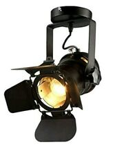 Hobaca  Loft Vintage Industrial Iron Mount Spotlight Track Lighting Ceiling Shop