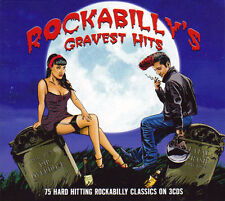 ROCKABILLY'S GRAVEST HITS - 75 CLASSICS NEW SEALED 3CD