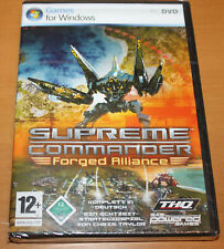 Supreme Commander: Forged Alliance (PC, 2007, DVD-Box)