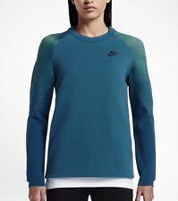 Nike WOMEN'S SPORTSWEAR TECH FLEECE CREW sweathshirt (M) 809537 301