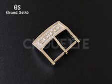 "Genuine Grand Seiko 16mm ""Capital Letter"" GS Buckle Clasp SBGV009, SBGV011"