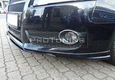 Front Bumper spoiler for Audi A5 Coupe 2D lip Valance addon S line look V style