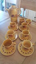 ROYAL WORCESTER - palissy- taurus coffee set